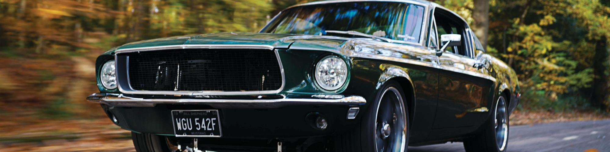 Bill Shepherd Mustang  cover image