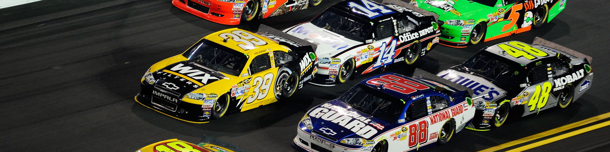 NASCAR cover image