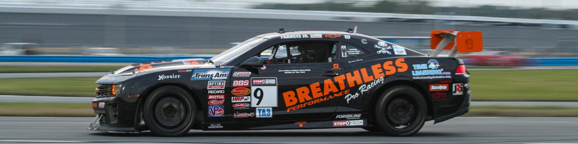Breathless Racing  cover image