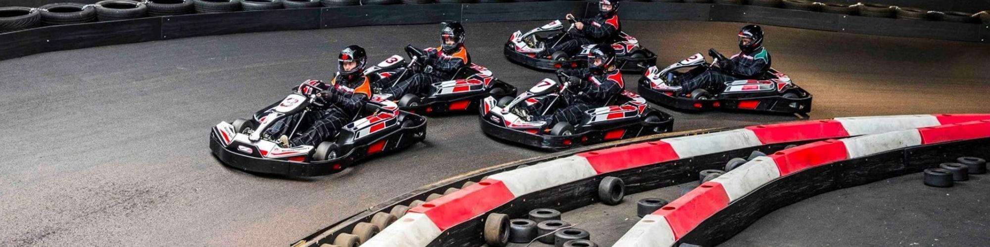 Fast Lane Indoor Kart Racing cover image