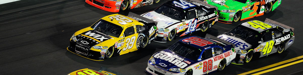 NASCAR cover image