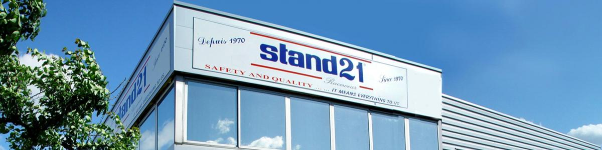 STAND 21 NORTH AMERICA cover image