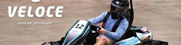 Veloce Indoor Speedway  cover image