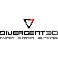 Divergent 3D logo image