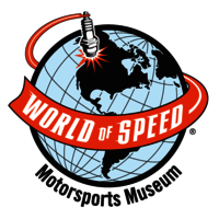 World of Speed Motorsports Museum logo image